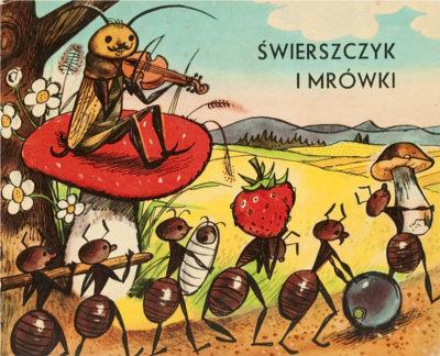 bajka świerszcz i mrówki